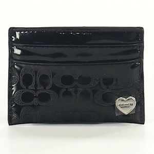NWOT Coach Patent Card Holder